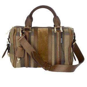 Burberry Prorsum Nevinson Bowling Bag Satchel